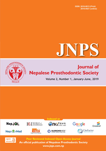 JNPS 2018, Volume 1 Number 1 (Jan - Jun)